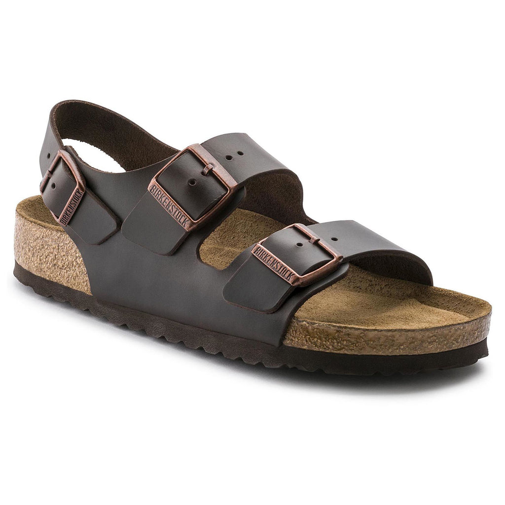 Milano Soft Footbed : Brown Amalfi