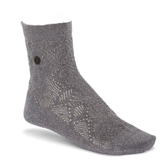 Sock Cotton Bling Ajour: Anthracite