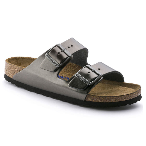 Arizona Soft Footbed : Metallic Anthracite