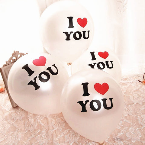 """I love you"" - Ballons (10 Stück) - AwesomeGiftAT"