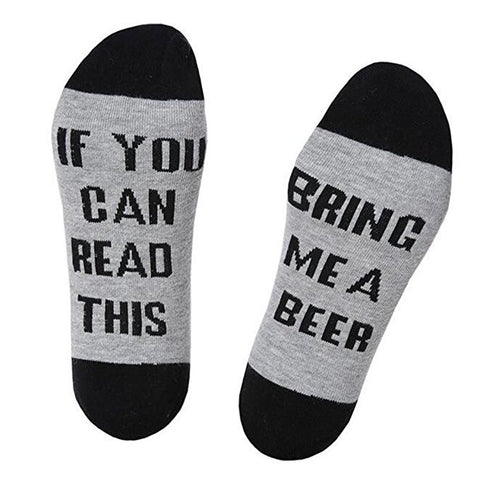 """IF You Can Read This"" - Biersocken"