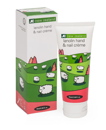 JC new zealand lanolin hand and nail cream