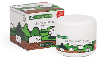 JC new zealand classic mud mask deep cleansing