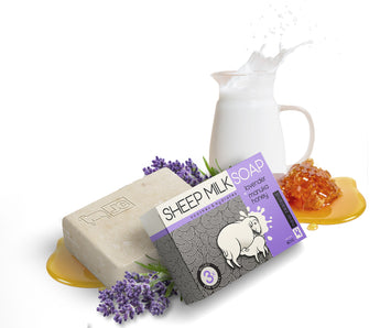 Sheep Milk Soap - Lavender & Manuka Honey