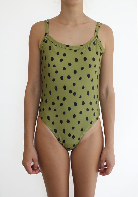 Booti One Piece in Olive