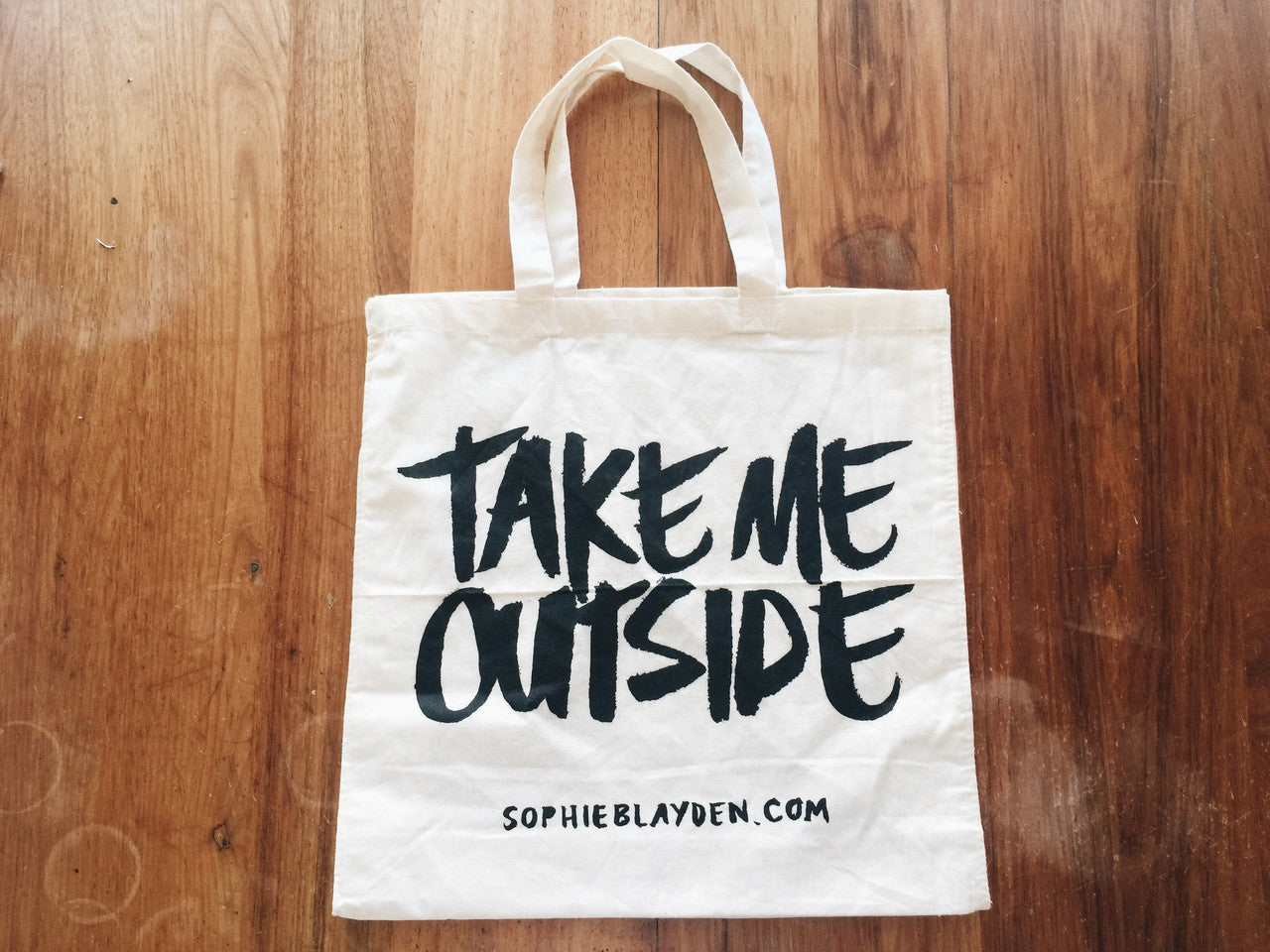 Take Me Outside Beach Bag