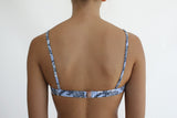 Mombasa Bralette Top in Blue