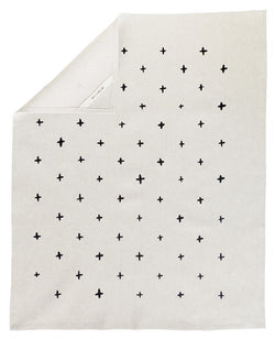 Cotton and Flax Black Plus Tea Towel - Anderson Road Co.