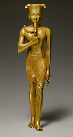 Egyptian statue of Amun