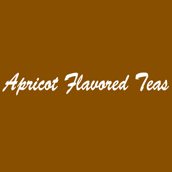 Apricot Flavored Teas
