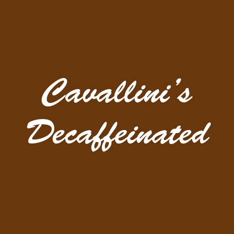 Cavallini's Decaffeinated