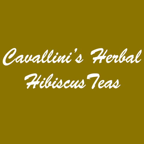 Cavallini's Herbal Hibiscus Teas