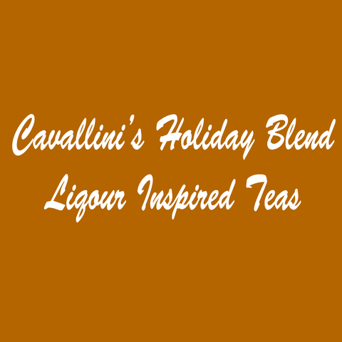 Cavallini's Holiday Blend Liquor Inspired Teas