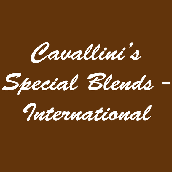 Cavallini's Special Blends - International