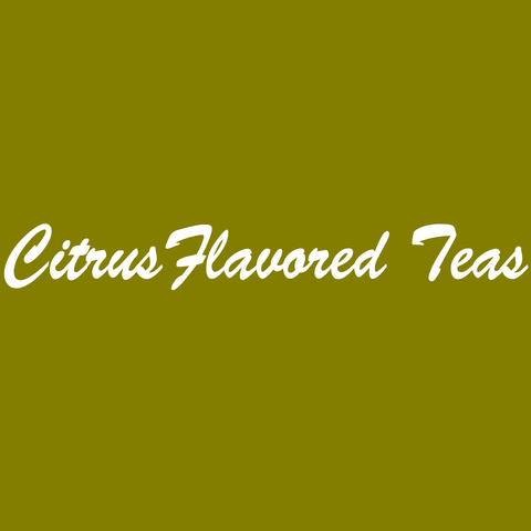 Citrus Flavored Teas