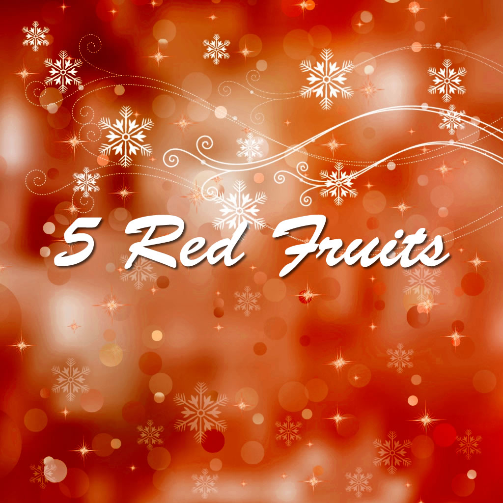 5 Red Fruits