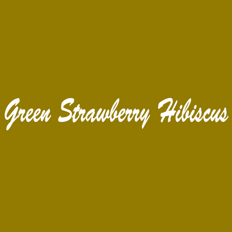 Green Strawberry Hibiscus