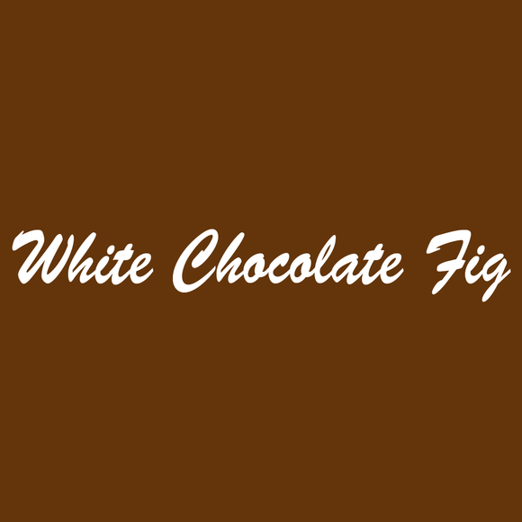 White Chocolate Fig