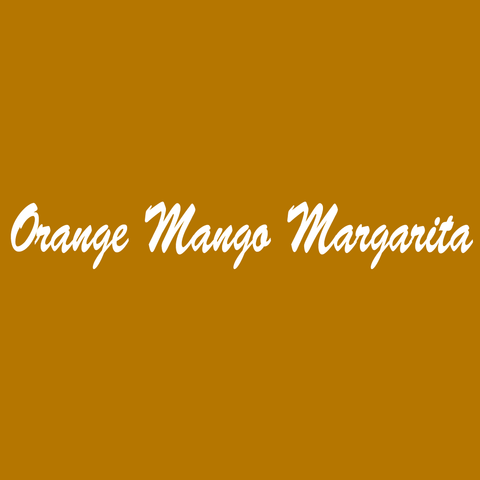 Orange Mango Margarita