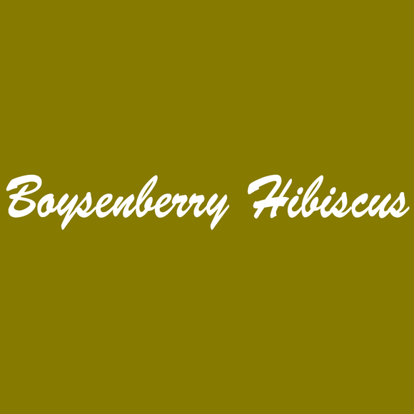 Boysenberry Hibiscus