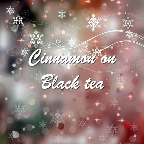 Cinnamon on Black tea