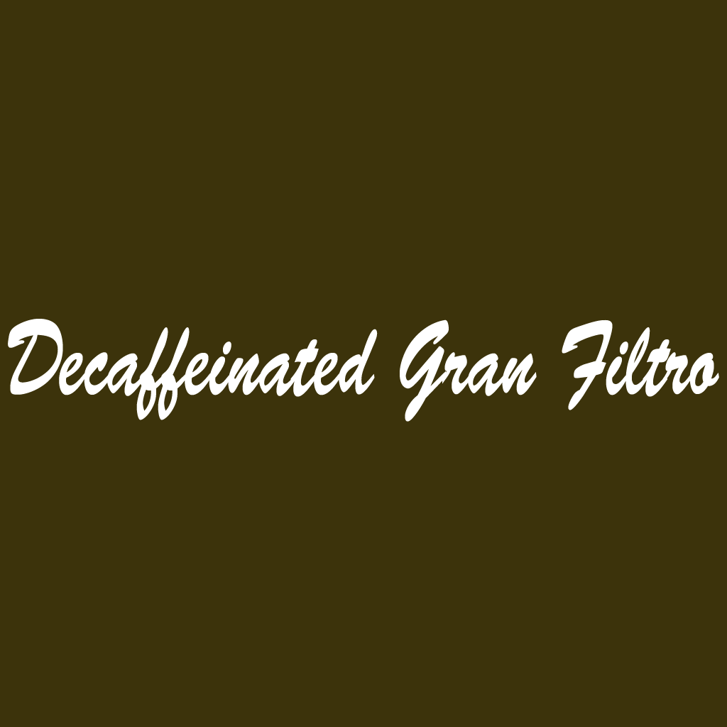 Decaffeinated Gran Filtro