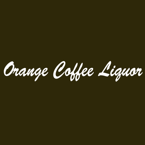 Orange Coffee Liquor