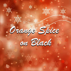 Orange Spice on Black