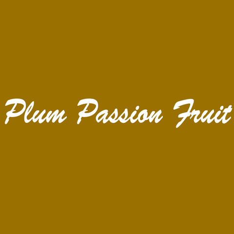 Plum Passion Fruit