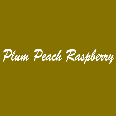 Plum Peach Raspberry