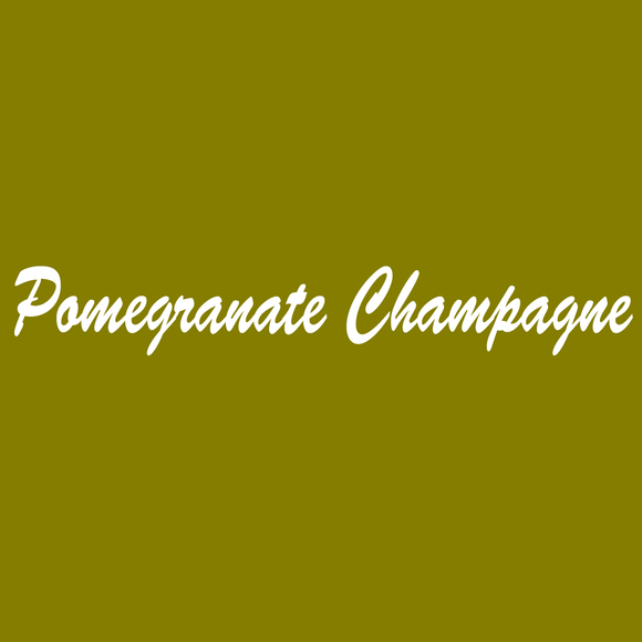 Pomegranate Champagne