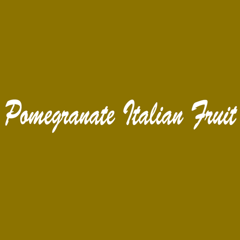Pomegranate Italian Fruit