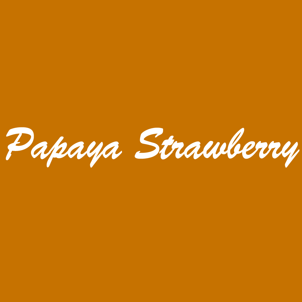 Papaya Strawberry