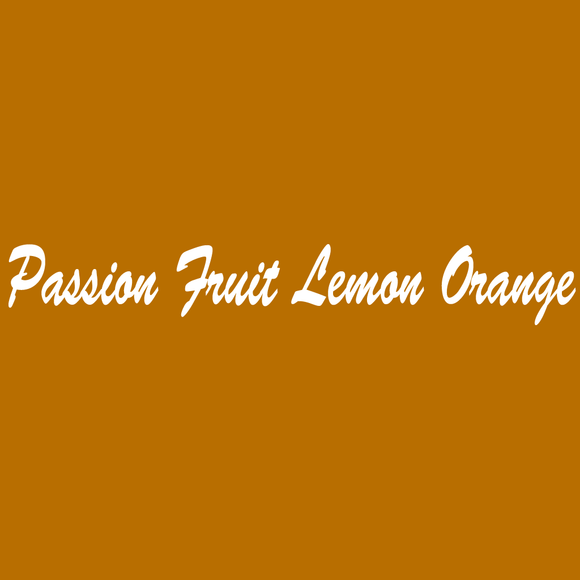 Passion Fruit Lemon Orange