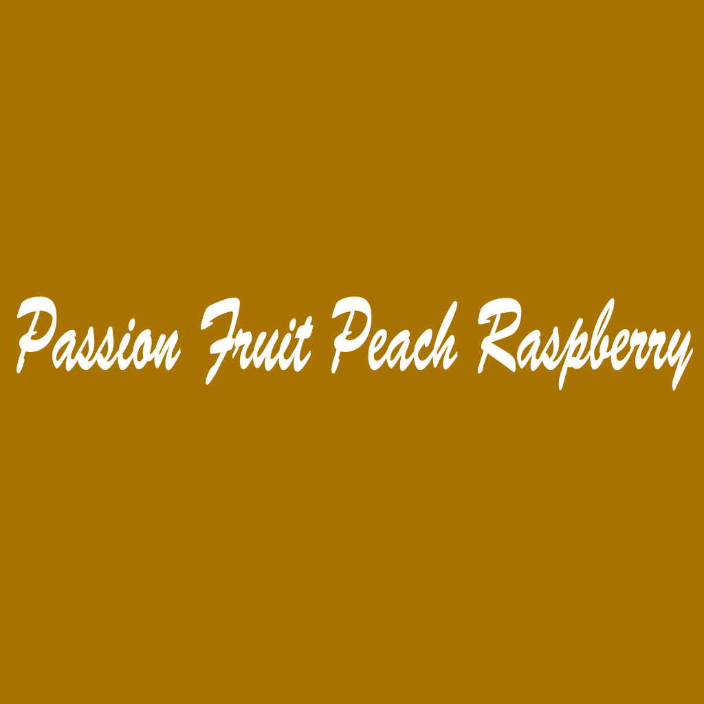 Passion Fruit Peach Raspberry