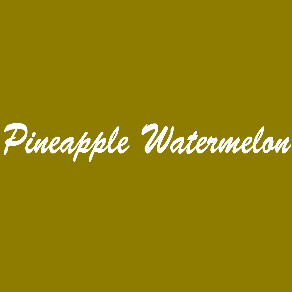 Pineapple Watermelon