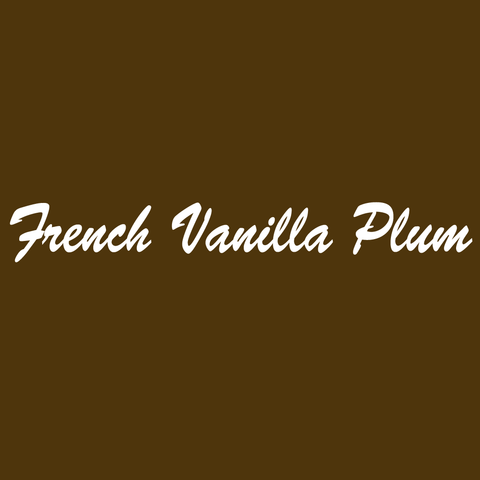 French Vanilla Plum