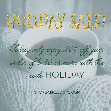 Barre Socks Holiday Sale TODAY ONLY