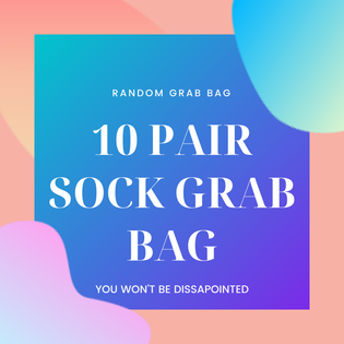 10 Pair Of Random Style BarreSocks