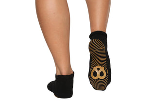 Pretzel Sole Ankle Socks - BarreSocks
