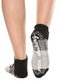 Nice Shaking Tri Gray Mary Jane Ankle Socks