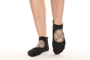 Badass Babe Leopard Mary Jane Socks