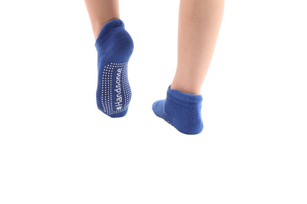 #Handsome Royal Blue Toddler - BarreSocks