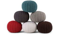 Poufs, Poufs & More Poufs! We are in Love