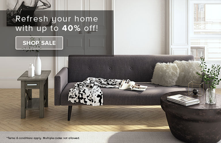 Refresh Your Home With Up To 40% Off