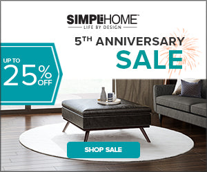 Anniversary Sale! Up to 25% OFF