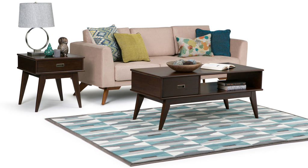 Simpli Home, A North American Leader In Online Furniture. (CNW Group/Simpli  Home)   (In The Photo: Draper Mid Century Coffee And End Table)