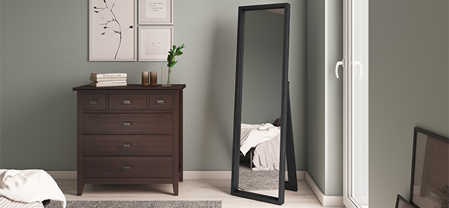 Kenna Decor Standing Mirror