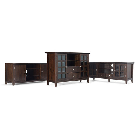 Tobacco Brown | Acadian Tall TV Stand