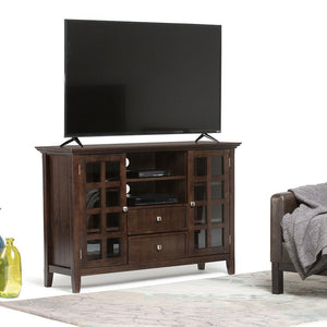 Brunette Brown | Acadian Tall TV Stand